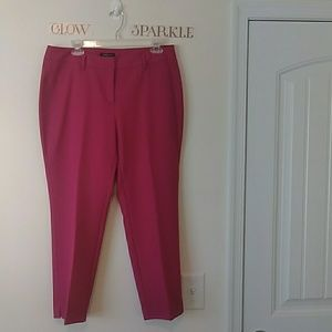 Hot Pink 10P Petite Rafaella Dress Pant